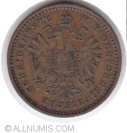 Image #2 of 1 Kreuzer 1858 M