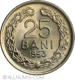 Imaginea #1 a 25 Bani 1953