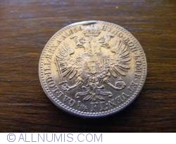 Image #2 of 1/4 Florin 1858 - A