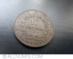 Image #1 of 10 Centimes 1872 A