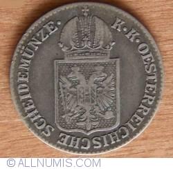 Imaginea #2 a 6 Kreuzer 1849 A