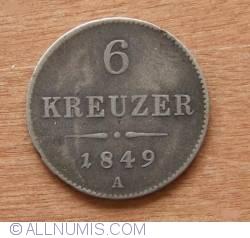 Imaginea #1 a 6 Kreuzer 1849 A