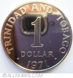 Imaginea #2 a 1 Dollar 1971 - Franklin Mint