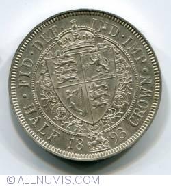 Half Crown 1893