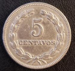 Imaginea #2 a 5 Centavos 1963