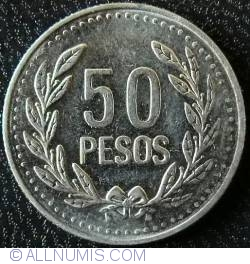 50 Pesos 2012