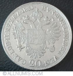Image #1 of 20 Kreuzer 1831 A