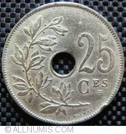 Image #1 of 25 Centimes 1922 Belgique