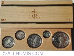 Image #1 of Mint Set 1989 - 500 de ani de la descoperirea Americii 1492~1992