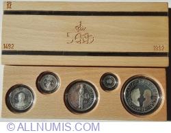 Image #2 of Mint Set 1989 - 500 de ani de la descoperirea Americii 1492~1992