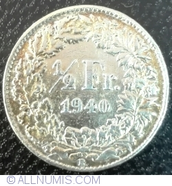 Image #1 of 1/2 Franc 1940