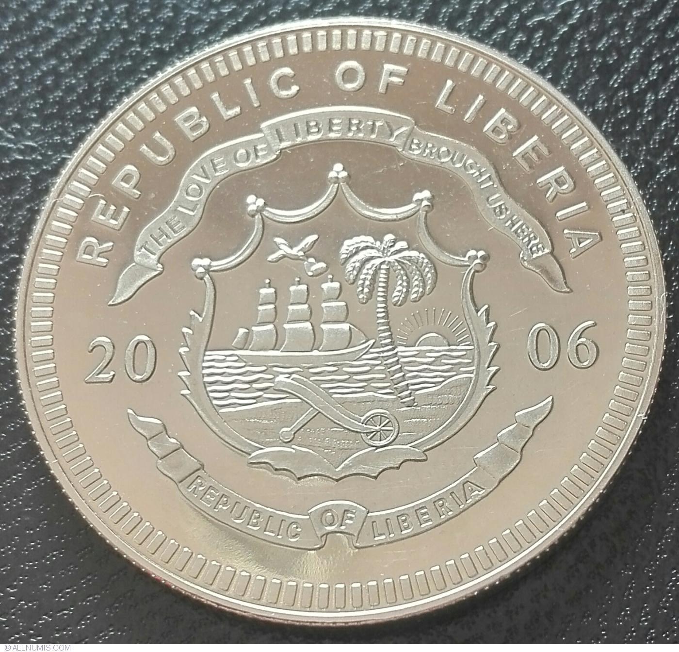 2001 Present Liberia Coin 42447