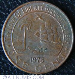 Image #1 of 1 Cent 1975