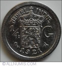 Image #1 of 1/4 Gulden 1921