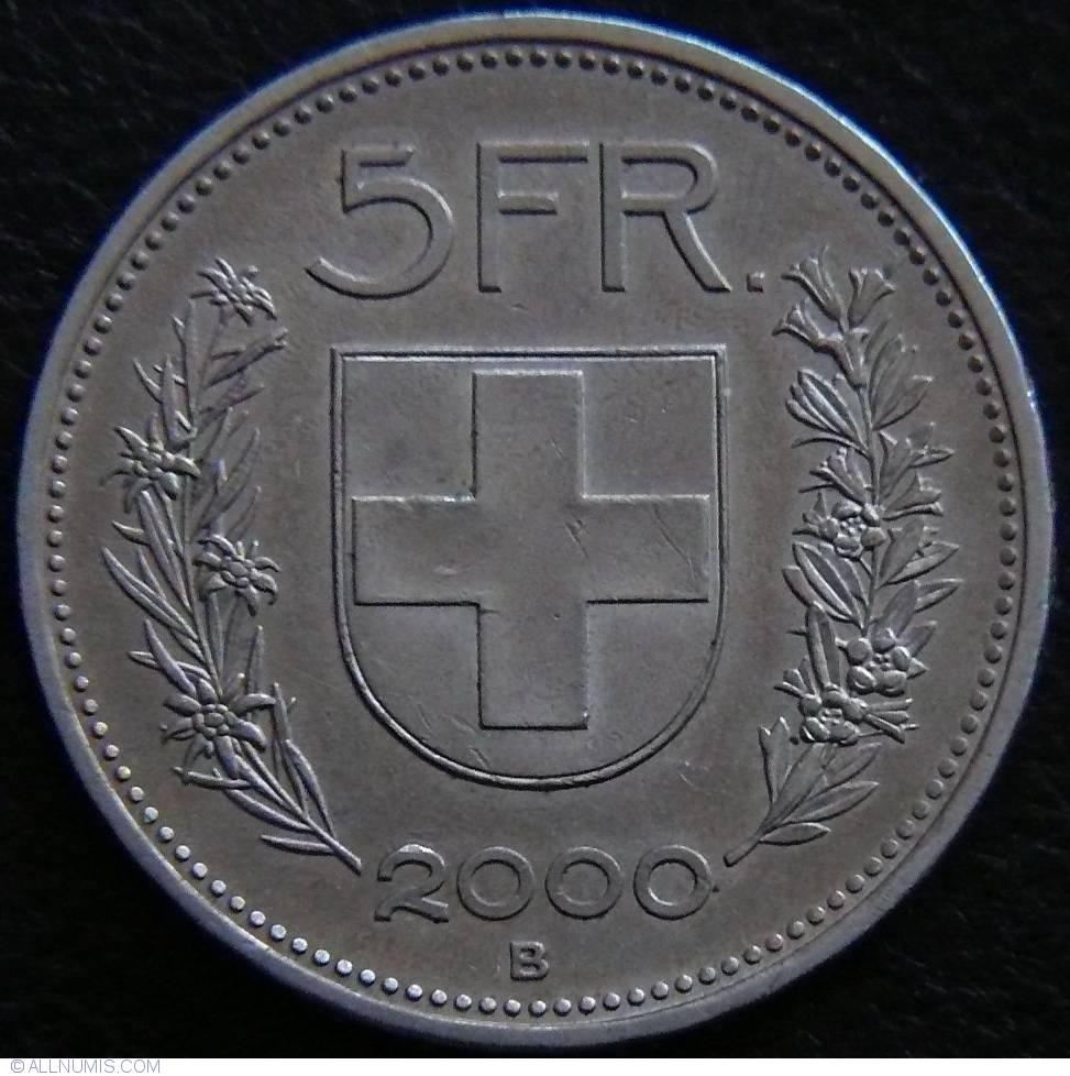 5 Francs 2000