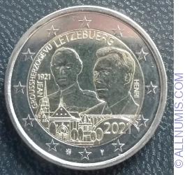 2 Euro 2021 - Henri I Grand Duke Jean - Classic Version