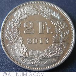 2 Francs 2013