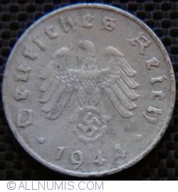 Image #2 of 10 Reichspfennig 1944 D