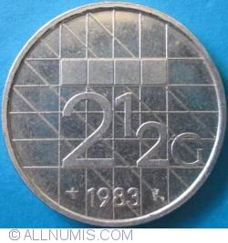 Imaginea #1 a 2 1/2 Gulden 1983