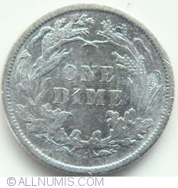 Image #1 of Seated Liberty Dime 1877 CC