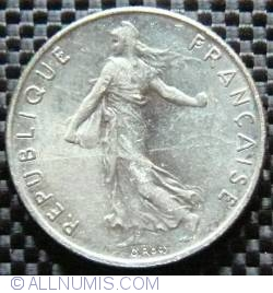 Image #2 of 1/2 Franc 1994 (Bee)