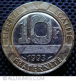 Image #1 of 10 Francs 1993