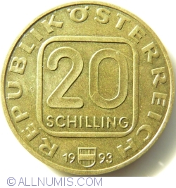 20 Schilling 1993 - Joseph Haydn