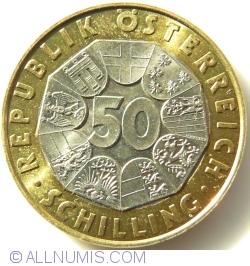 Image #1 of 50 Schilling 1998 - EU Präsidentschaft