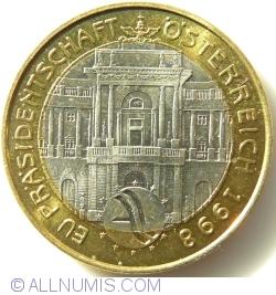 Image #2 of 50 Schilling 1998 - EU Präsidentschaft