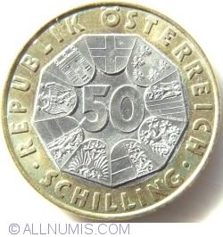 Image #1 of 50 Schilling 1998 - Konrad Lorenz