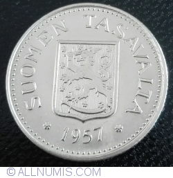 100 Markkaa 1957
