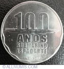 Imaginea #2 a 2½ Euro 2013 - 100 years of submarine Espadarte