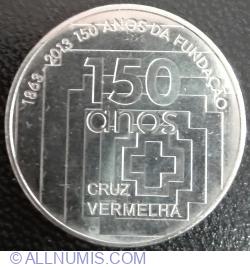 Imaginea #2 a 2½ Euro 2013 - 150th Anniversary of Portuguese Red Cross