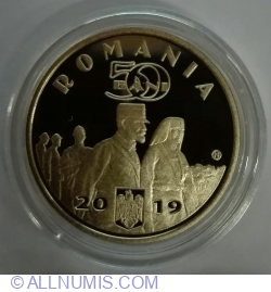 50 Bani 2019 - Regina Maria (Proof)