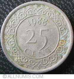 Image #1 of 25 Cents 1988