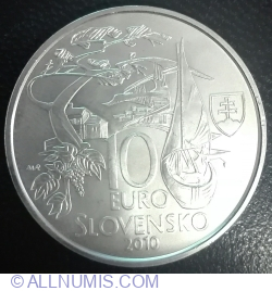 Imaginea #1 a 10 Euro 2010 - 150th Anniversary of Martin Kukucin