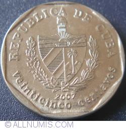 Imaginea #2 a 25 Centavos 2007