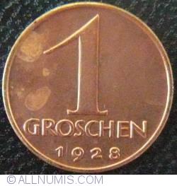 Image #1 of 1 Groschen 1928