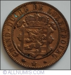 Image #2 of 10 Centimes 1865 A