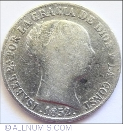 Image #2 of 4 Reales 1852