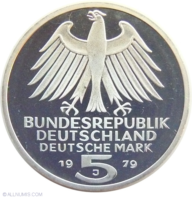 5 Mark 1979 150th Anniversary German Archaeological Institute