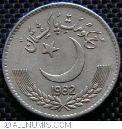 Image #2 of 1 Rupee 1982