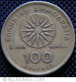 Imaginea #1 a [VARIANTA] 100 Drahme 1990