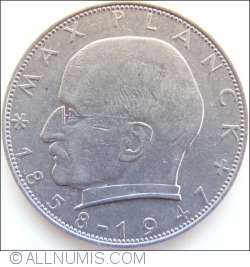 Imaginea #2 a 2 Marci 1965 D - Max Planck