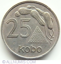 Imaginea #1 a 25 Kobo 1973