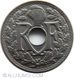 Image #2 of 5 Centimes 1938