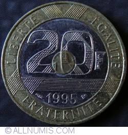 Image #1 of 20 Francs 1995