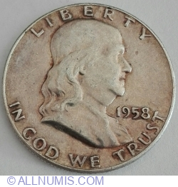 Image #2 of Half Dollar 1958