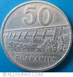 Imaginea #1 a 50 Guaranies 1992