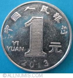 Imaginea #1 a 1 Yuan 2013